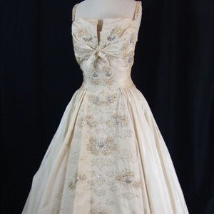 1950s Majestic Wedding Gown